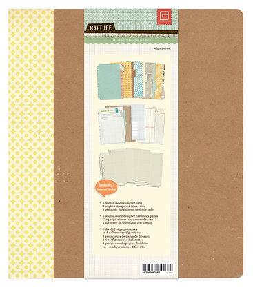 Basic Grey Journaling Binder - Ledger