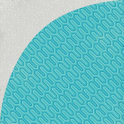 Basic Grey Loose Sheets - 12x12 - Aurora - Hydra