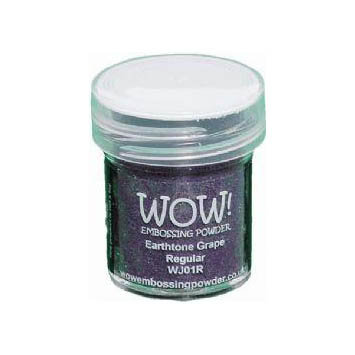 WOW! Embossing Powder - Earthtone Grape