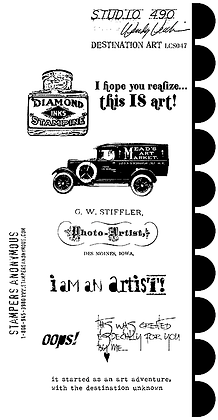Studio 490 Stamps - Destination Art