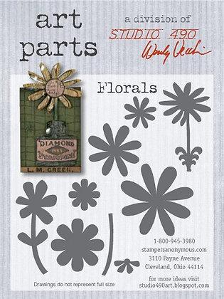 Studio 490 Art Parts Kit - Florals