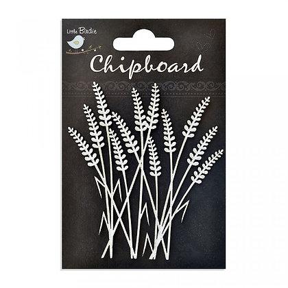 Little Birdie Chipboard  - Grass