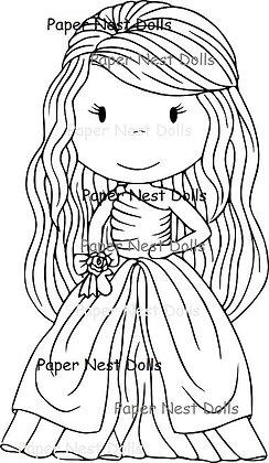 Paper Nest Dolls - Ballgown Ellie