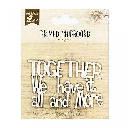 Little Birdie Chipboard  - Together & More
