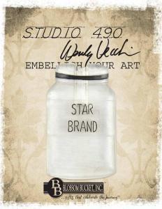 Studio 490 Embellish Your Art - Star Bottle