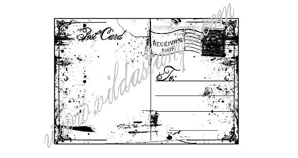 Vilda - Mini Postcard