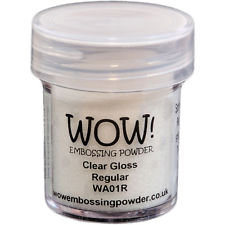 WOW! Embossing Powder - Clear Gloss