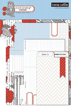 Teresa Collins File Folders - Stationery Noted