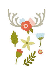 Sizzix Thinlits Die - Country Florals
