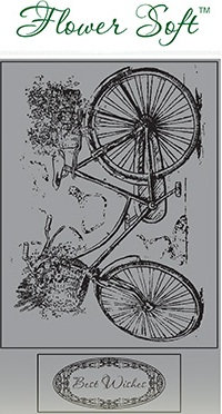 Flower Soft Stamp - Country Bikes