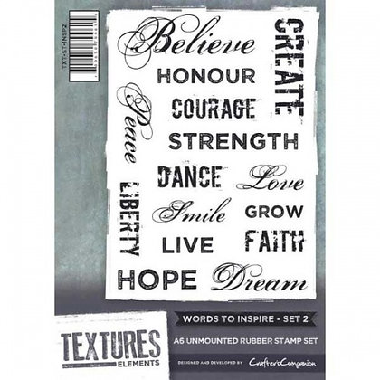 Crafters Companion - Words To Inspire - Set 2