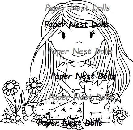 Paper Nest Dolls - Zodiac - Taurus
