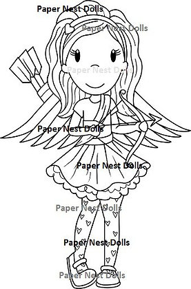 Paper Nest Dolls - Cupid Emma