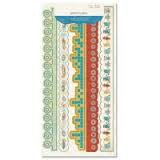 Crate Paper Glitter Borders - Orbit Collection