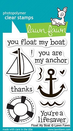 Lawn Fawn Stamp Set - Float My Boat