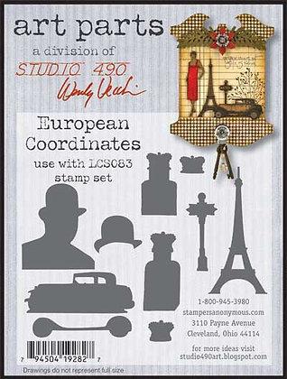 Studio 490 Art Parts Kit - European Co-ordinates