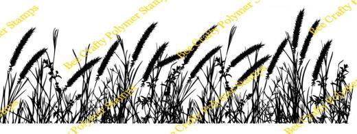 Bee Crafty Backdrop Border -  Grasses