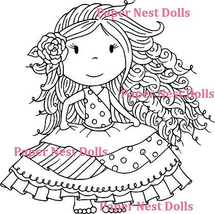 Paper Nest Dolls - Señorita Ellie