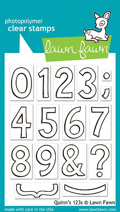 Lawn Fawn Stamps - Quinn's 123's