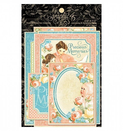 Graphic 45 Ephemera Cards - Precious Memories