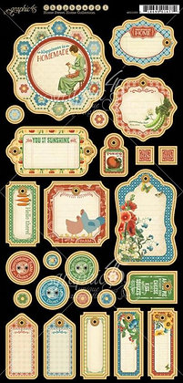 Graphic 45 Chipboard - Home Sweet Home 1