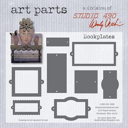 Studio 490 Art Parts Kit - Book Plates