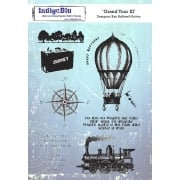Indigo Blu Stamp Set - Grand Tour III