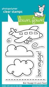 Lawn Fawn Stamp Set - Bon Voyage