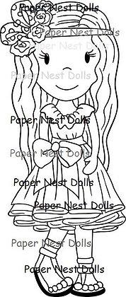 Paper Nest Dolls - Boho Chic Avery
