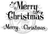 Vilda Stamps - Merry Christmas