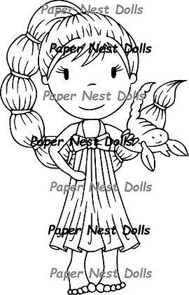 Paper Nest Dolls - Zodiac - Scorpio