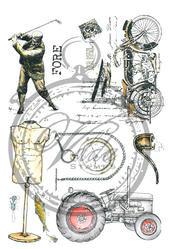 Vilda Stamps - Manly