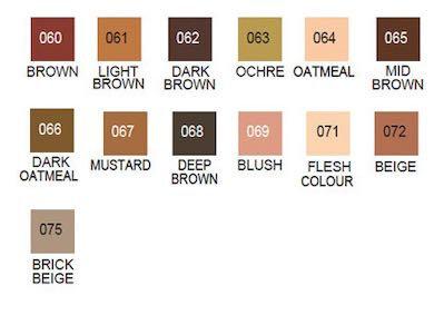 Clean Colour Pens - Browns and Neutrals