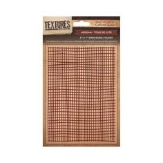 Crafters Companion Textures Folder - 5x7 - Hessian
