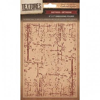 Crafters Companion Textures Folder - 5x7 - Distress
