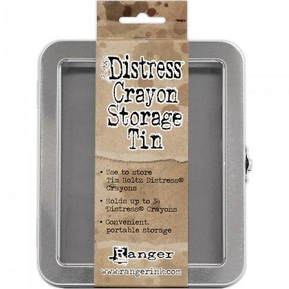 Distress Crayon Storage Tin