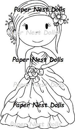 Paper Nest Dolls - Ballgown Avery