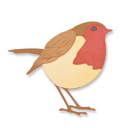 Sizzix Thinlits Die Set - Little Robin