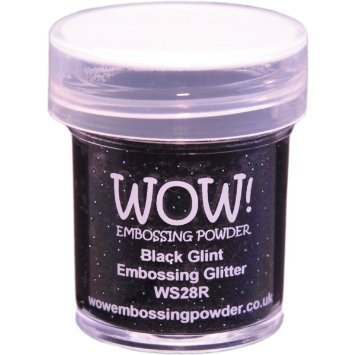 WOW! Embossing Glitter - Black Glint