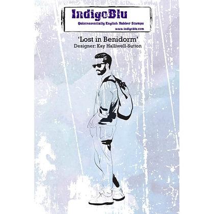 Indigo Blu Stamp - Lost In Benidorm