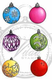Vilda Stamps - Small Christmas Balls