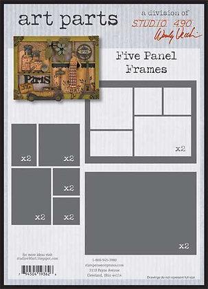 Studio 490 Art Parts Kit - Five Panel Frames