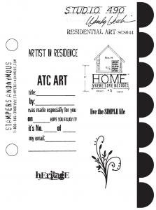 Studio 490 Stamps - Residential Art