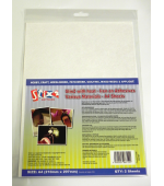 Stix 2 - A4 Iron On Sheets For Various Materials.