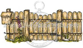 Vilda - Wooden Fence With Mailbox
