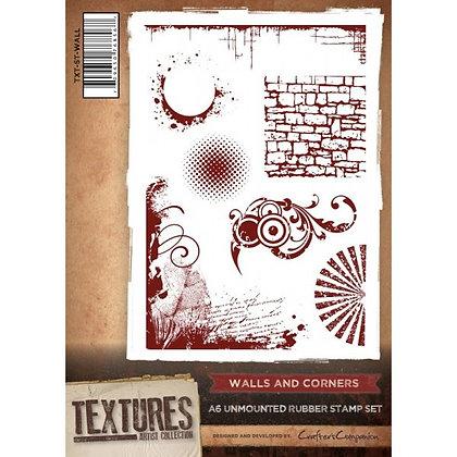 Crafters Companion Stamp Set - Walls & Corners