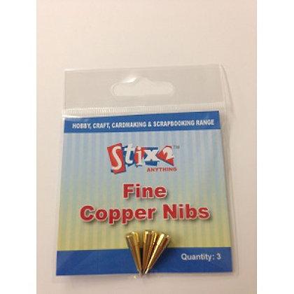 Stix 2 - Fine Copper Nibs - 3pcs