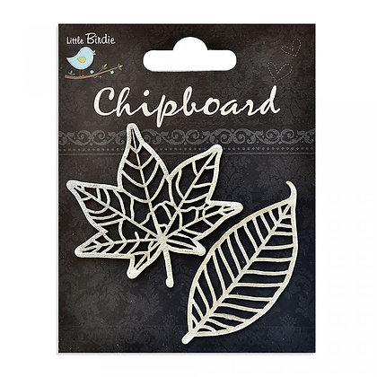 Little Birdie Chipboard  - Leaves