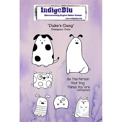 Indigo Blu Stamp Set - Duke's Gang