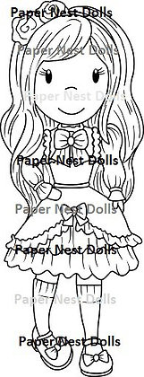 Paper Nest Dolls - Fashion Doll Classic